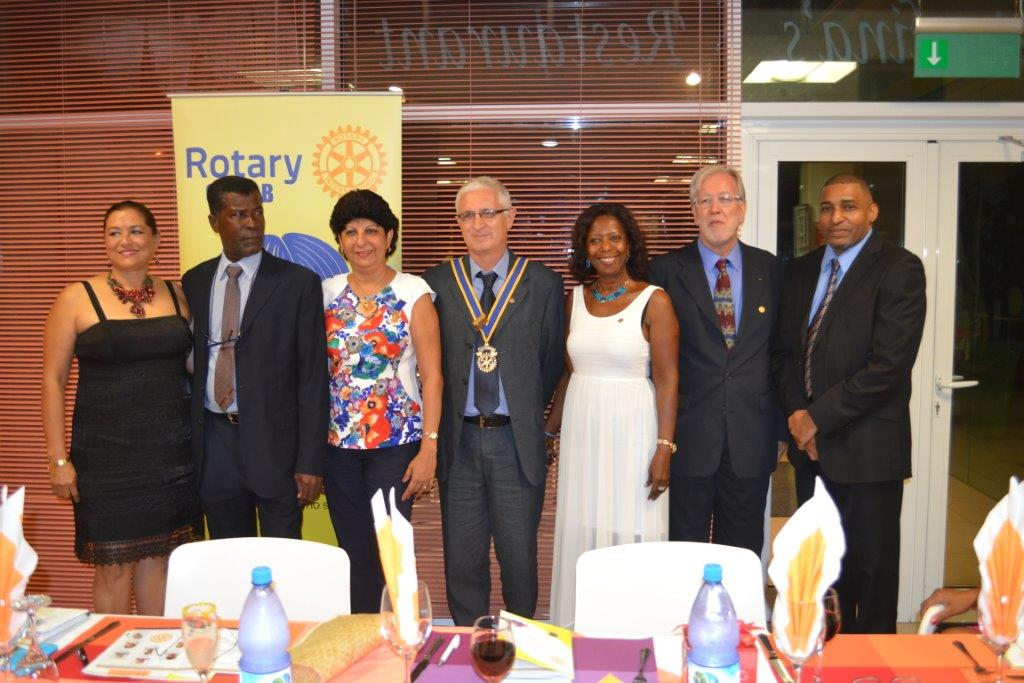 Outgoing Board members