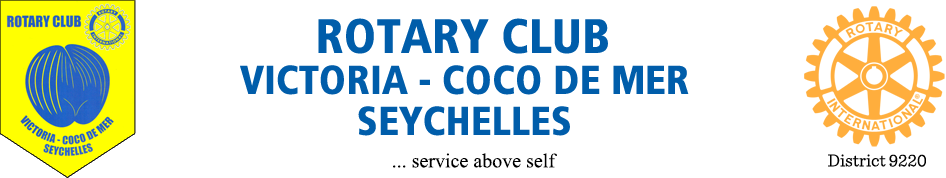 Rotary Club de Victoria – Coco de Mer logo