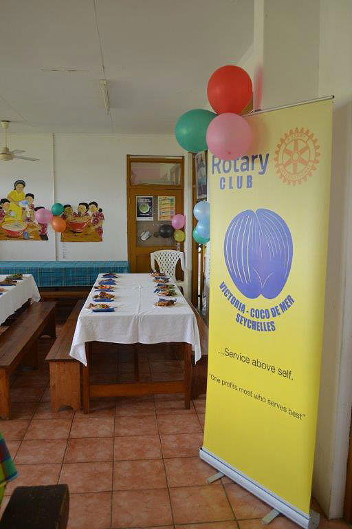 Rotary Club treats the-School for the exceptional child to lunch and fun on the occasion of the National day of Disabled