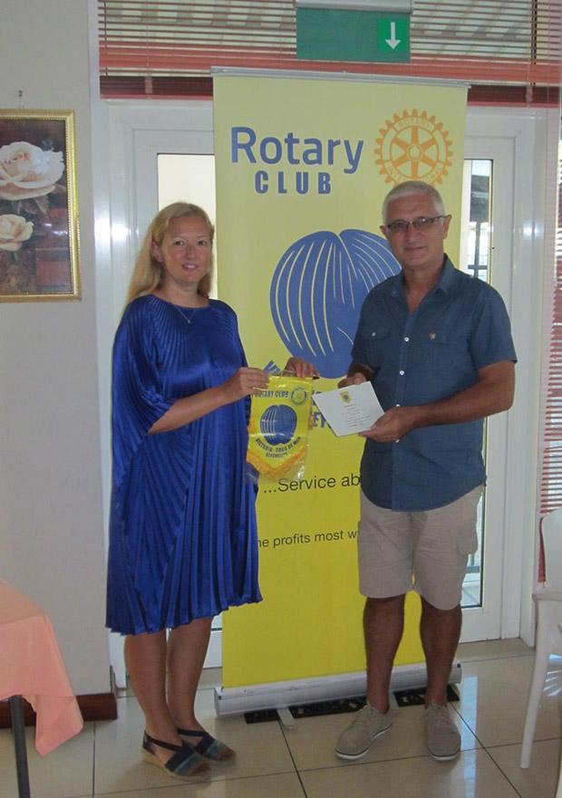 Sarah Triboldi_Rotary club Cremona